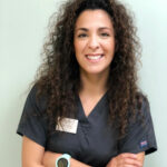 Emily Badaraco, auxiliar de veterinaria